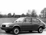Alfa Romeo Alfasud UK-spec 901 (1980–1983) images
