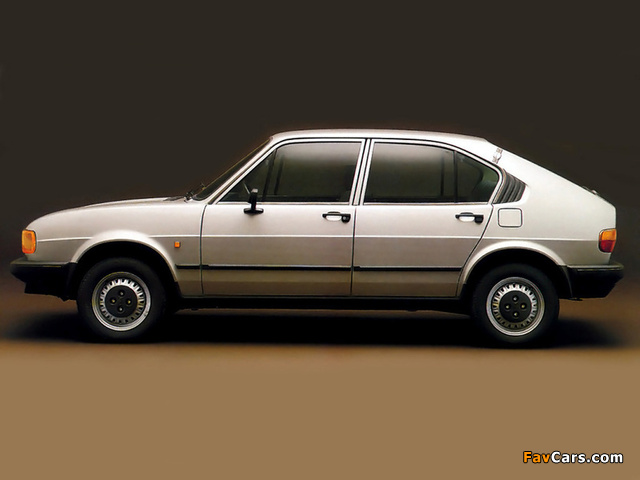 Alfa Romeo Alfasud 901 (1980–1983) images (640 x 480)