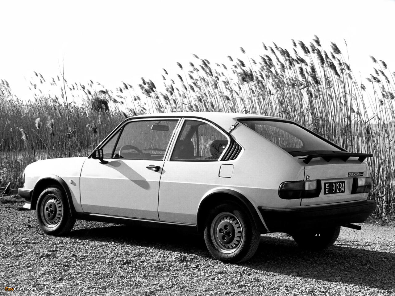 Alfa Romeo Alfasud Ti 901 (1980–1983) images (1280 x 960)