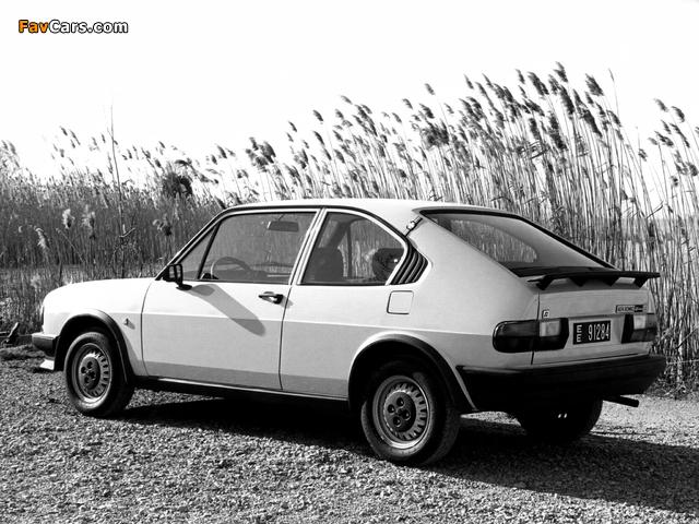 Alfa Romeo Alfasud Ti 901 (1980–1983) images (640 x 480)