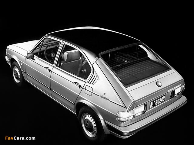 Alfa Romeo Alfasud Valentino 901 (1980) photos (640 x 480)