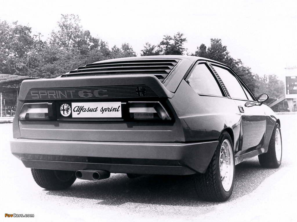 Alfa Romeo Alfasud Sprint 6C Prototype 1 902 (1982) images (1024 x 768)