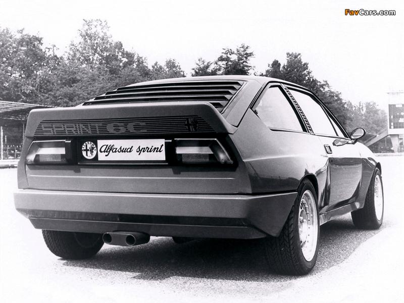 Alfa Romeo Alfasud Sprint 6C Prototype 1 902 (1982) images (800 x 600)
