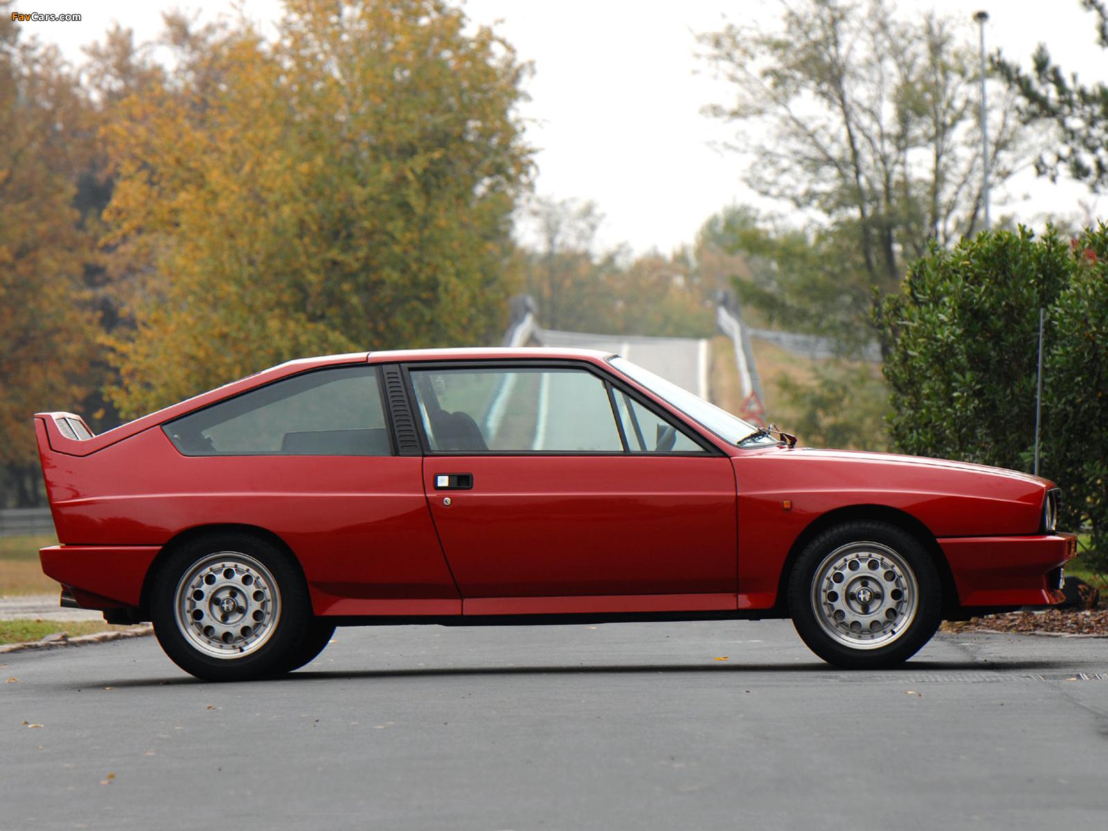 Alfa Romeo Alfasud Sprint 6C Prototype 2 902 (1982) images (1600 x 1200)