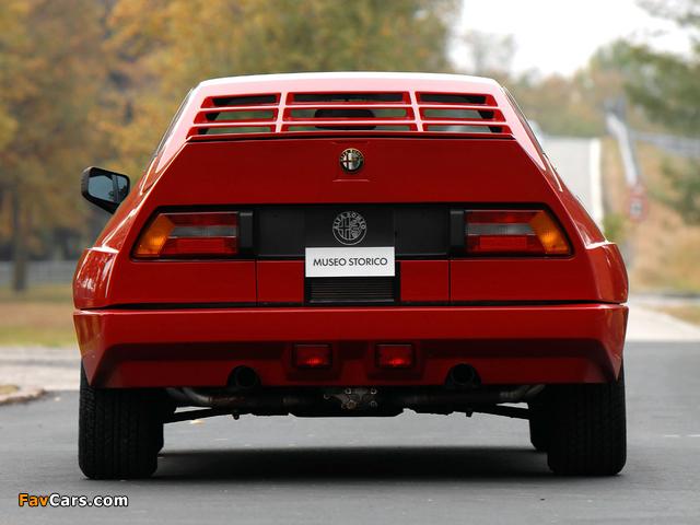Alfa Romeo Alfasud Sprint 6C Prototype 2 902 (1982) photos (640 x 480)