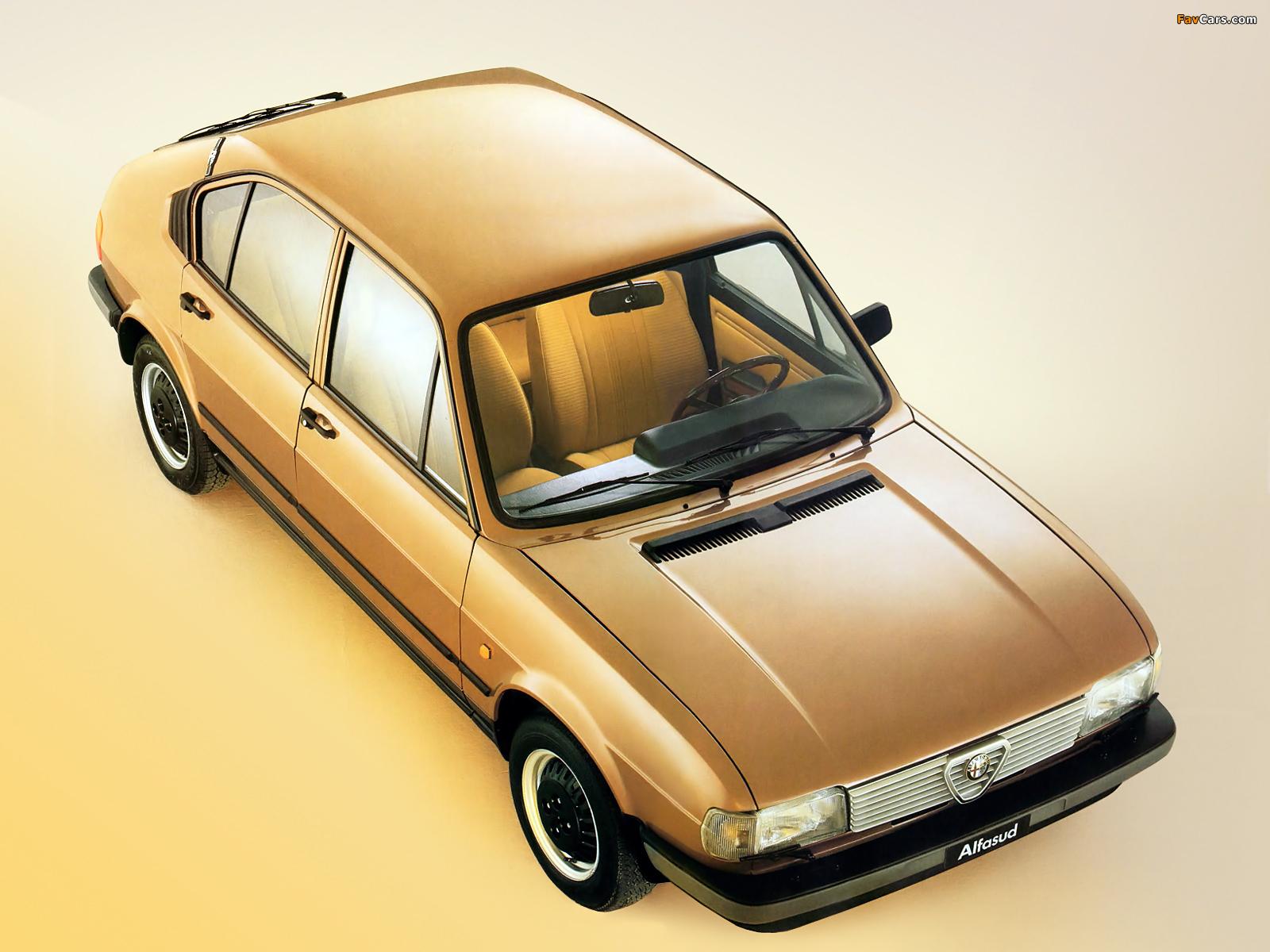 Alfa Romeo Alfasud Quadrifoglio Oro 901 (1982–1983) pictures (1600 x 1200)