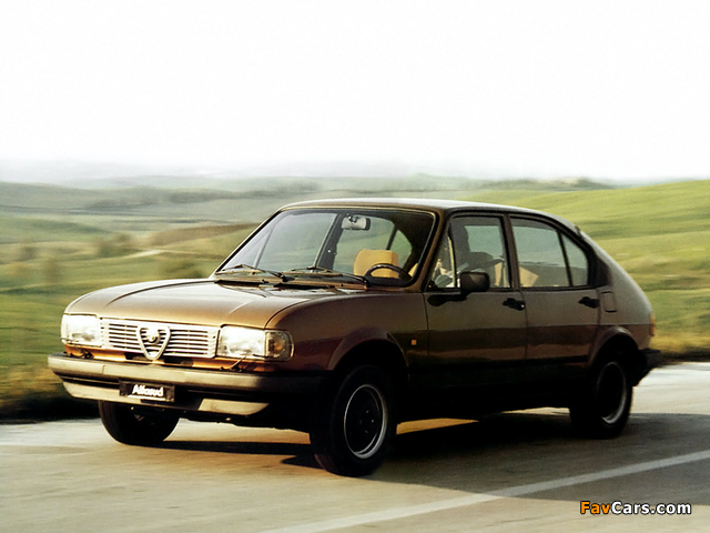 Alfa Romeo Alfasud Quadrifoglio Oro 901 (1982–1983) pictures (640 x 480)