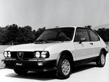 Alfa Romeo Alfasud Ti Quadrifoglio Verde 901 (1982–1983) wallpapers