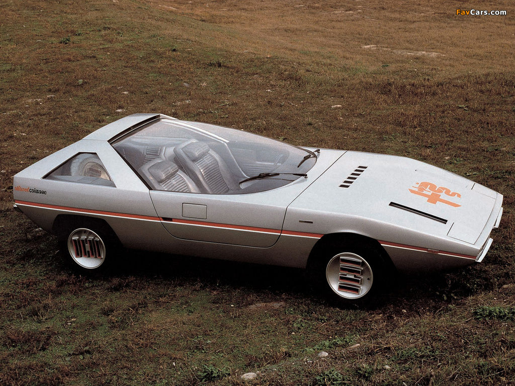 Alfa Romeo Alfasud Caimano Concept 901 (1971) images (1024 x 768)