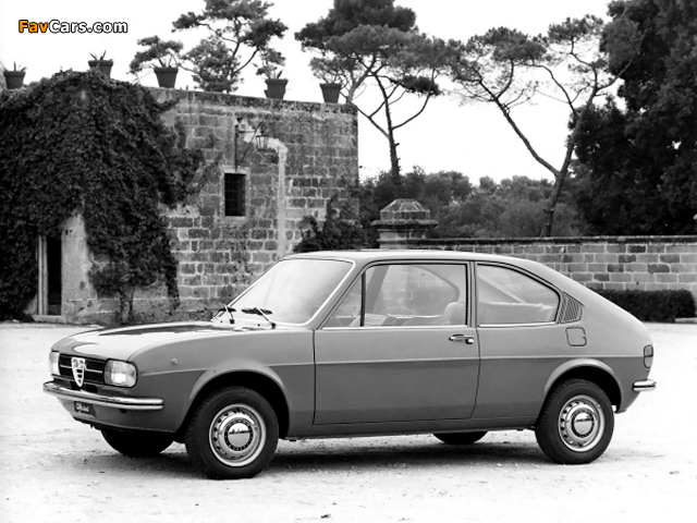 Alfa Romeo Alfasud 2-door Prototype 901 (1972) photos (640 x 480)