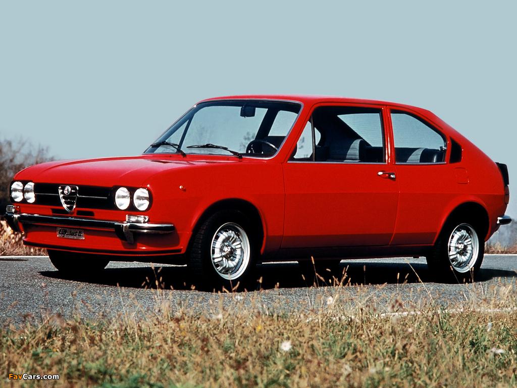 Alfa Romeo Alfasud ti 901 (1973–1978) photos (1024 x 768)