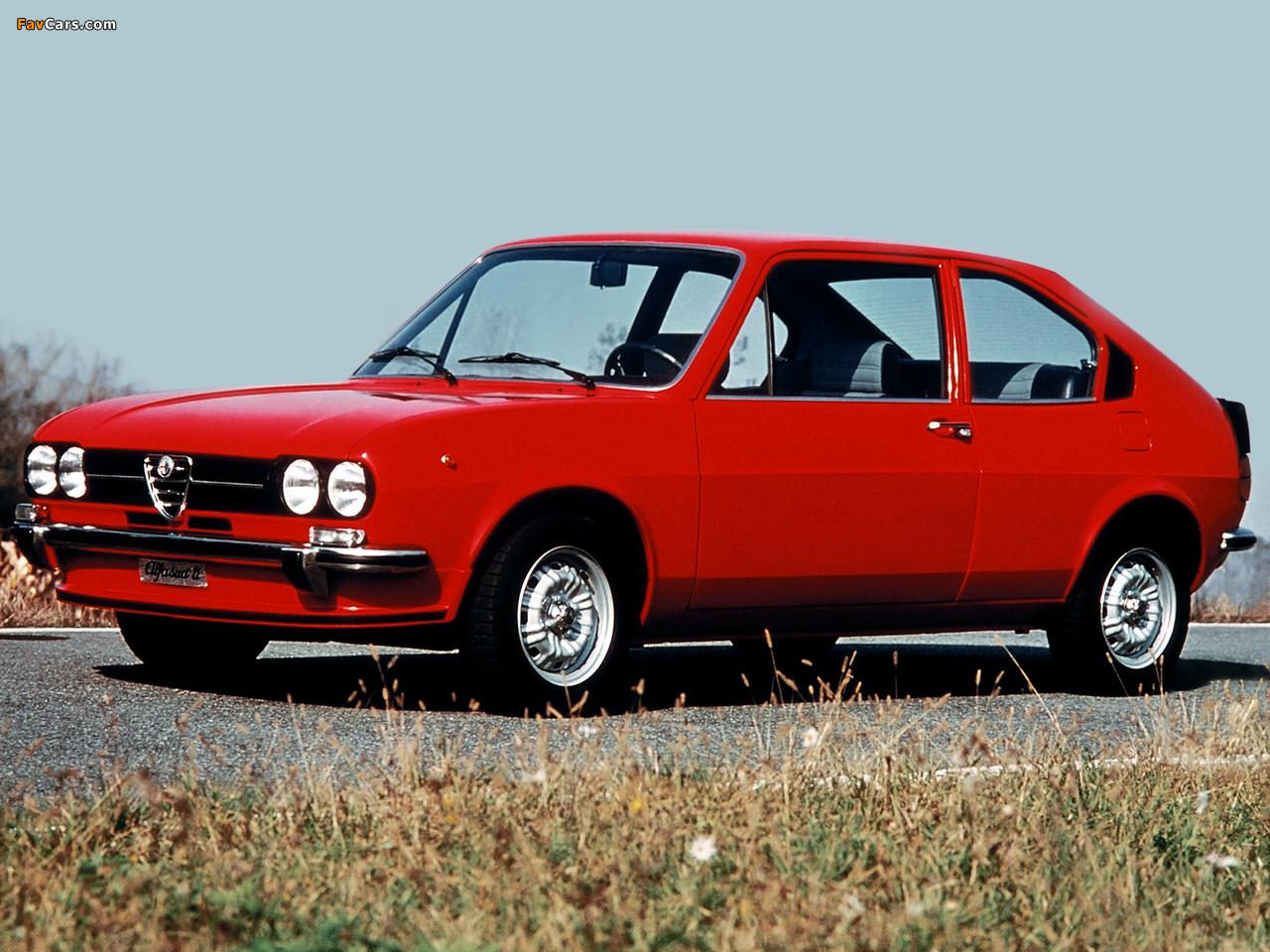Alfa Romeo Alfasud ti 901 (1973–1978) photos (1280 x 960)
