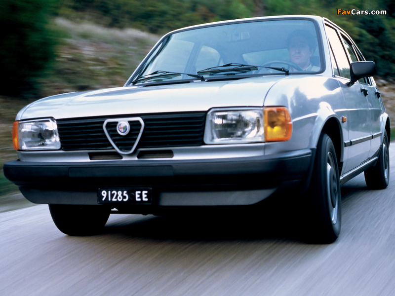 Images of Alfa Romeo Alfasud 901 (1980–1983) (800 x 600)