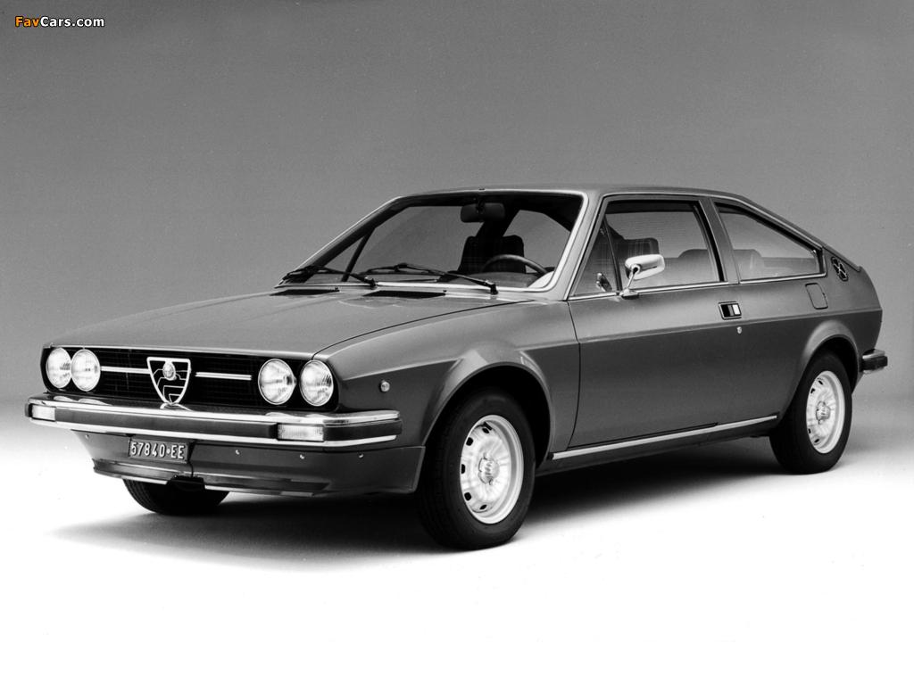 Photos of Alfa Romeo Alfasud Sprint 902 (1976–1978) (1024 x 768)