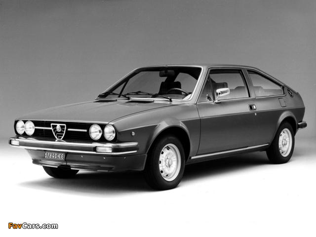 Photos of Alfa Romeo Alfasud Sprint 902 (1976–1978) (640 x 480)