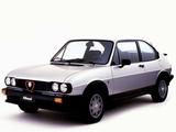 Pictures of Alfa Romeo Alfasud Ti Quadrifoglio Verde 901 (1982–1983)
