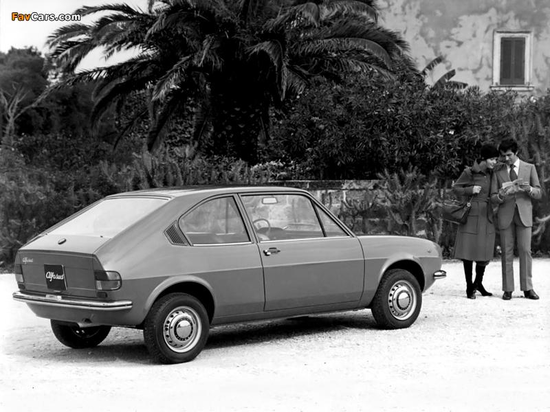 Pictures of Alfa Romeo Alfasud 2-door Prototype 901 (1972) (800 x 600)