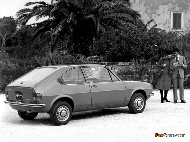 Pictures of Alfa Romeo Alfasud 2-door Prototype 901 (1972) (640 x 480)