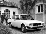 Alfa Romeo Alfetta 2000 116 (1977–1978) pictures