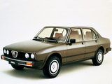 Alfa Romeo Alfetta 2.0i Quadrifoglio Oro 116 (1982–1983) photos