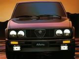 Alfa Romeo Alfetta 2.0i Quadrifoglio Oro 116 (1983–1984) images