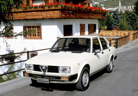Images Of Alfa Romeo Alfetta 2 0 Turbo Diesel 116 1979 1981