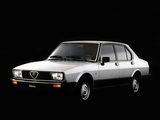 Photos of Alfa Romeo Alfetta 116 (1983–1984)
