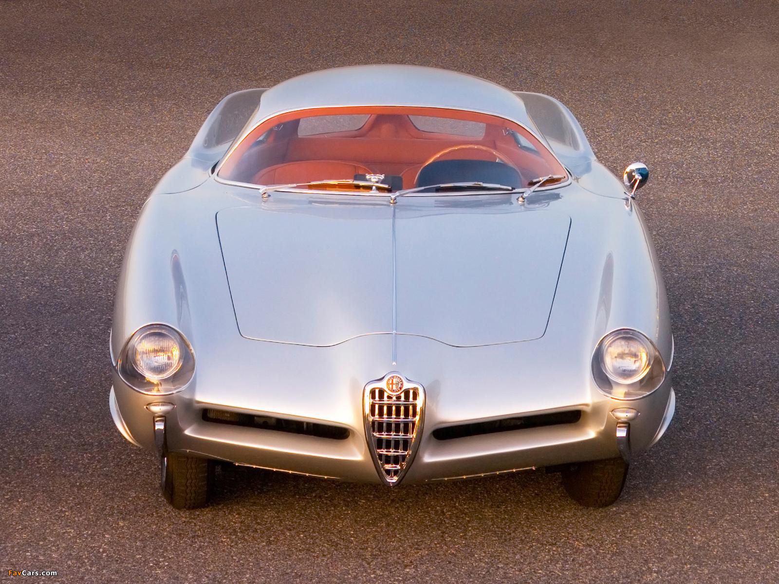Alfa Romeo B.A.T. 9 (1955) wallpapers (1600 x 1200)