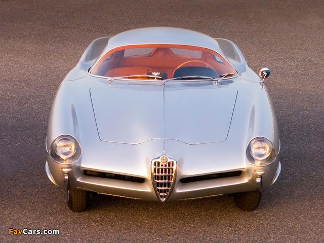 Alfa Romeo B.A.T. 9 (1955) wallpapers (640 x 480)