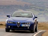 Images of Alfa Romeo Brera UK-spec 939D (2006–2010)