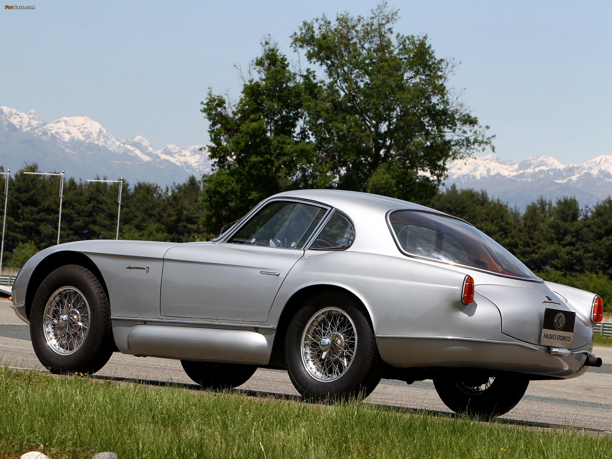 Alfa Romeo 2000 Sportiva Coupe 1366 (1954) pictures (2048 x 1536)