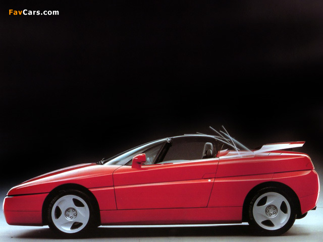 Alfa Romeo 164 Proteo Concept (1991) photos (640 x 480)