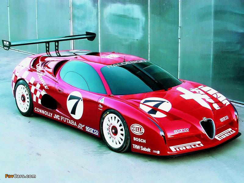 Images of Alfa Romeo Scighera GT (1997) (800 x 600)