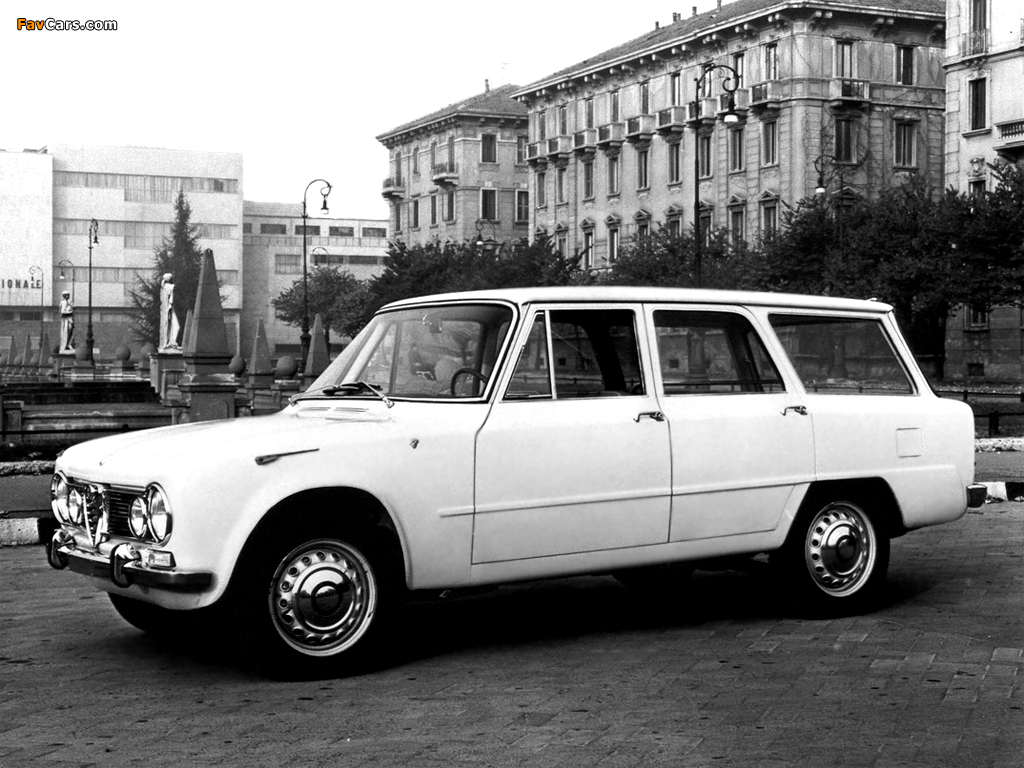 Photos of Alfa Romeo Giulia T.I. Promiscua Colli 105 (1962) (1024 x 768)