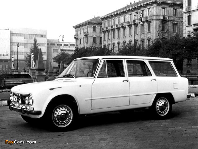 Photos of Alfa Romeo Giulia T.I. Promiscua Colli 105 (1962) (640 x 480)