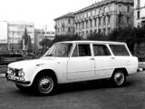 Photos of Alfa Romeo Giulia T.I. Promiscua Colli 105 (1962)