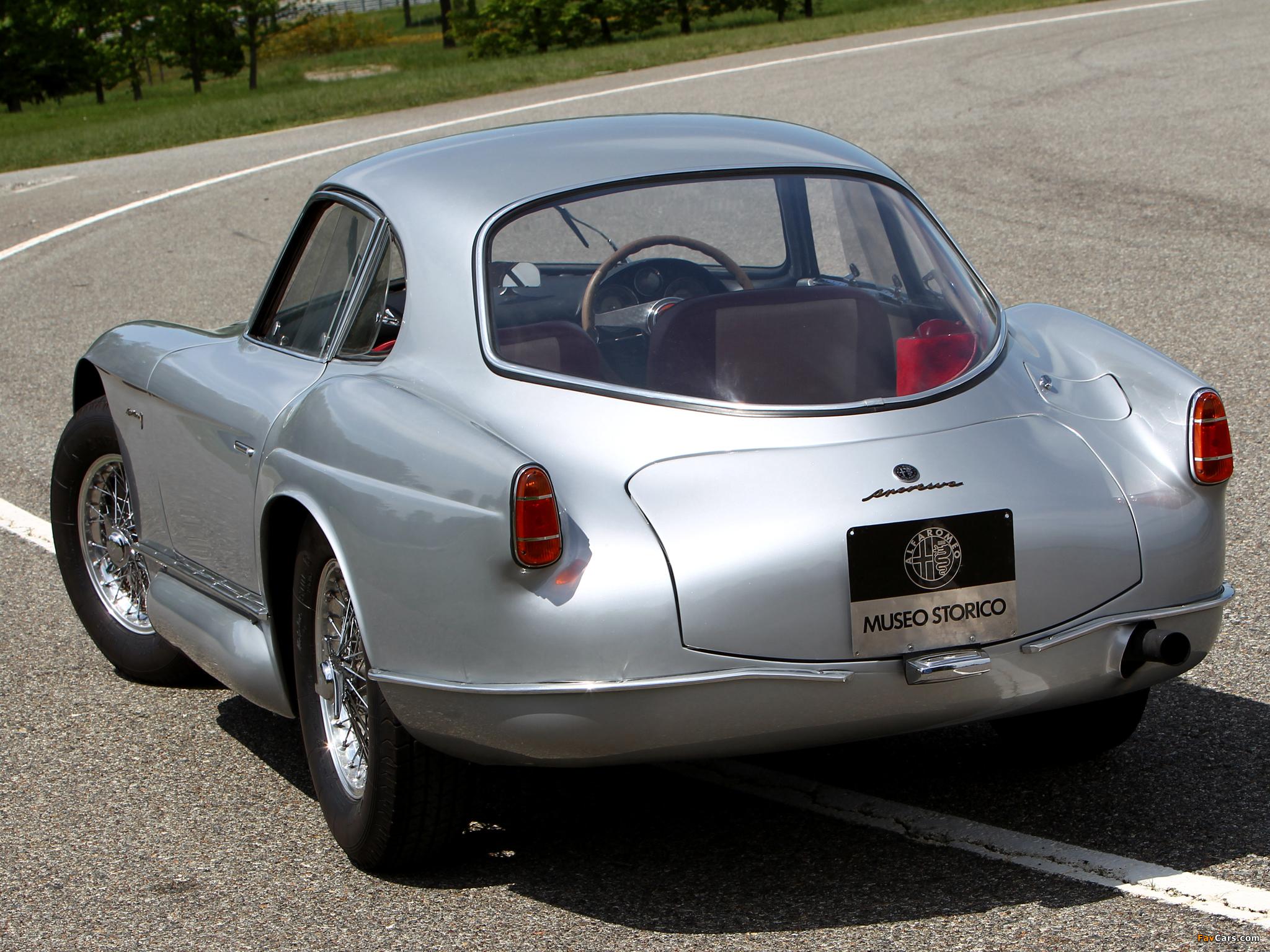 Pictures of Alfa Romeo 2000 Sportiva Coupe 1366 (1954) (2048 x 1536)