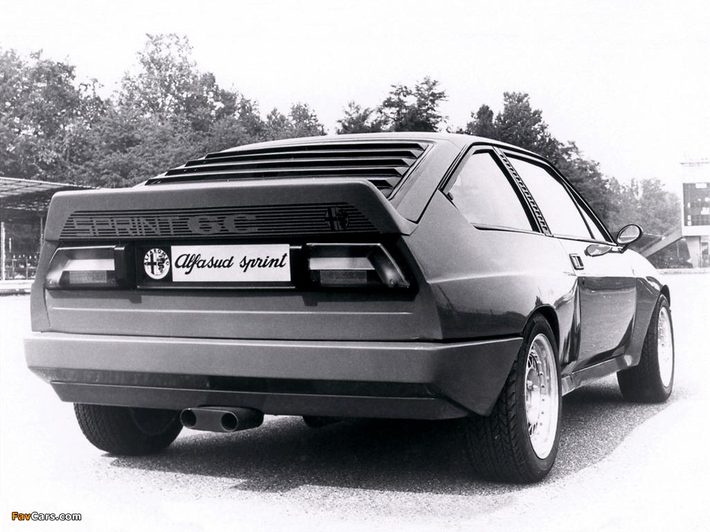 Pictures of Alfa Romeo Alfasud Sprint 6C Prototype 1 902 (1982) (1024 x 768)