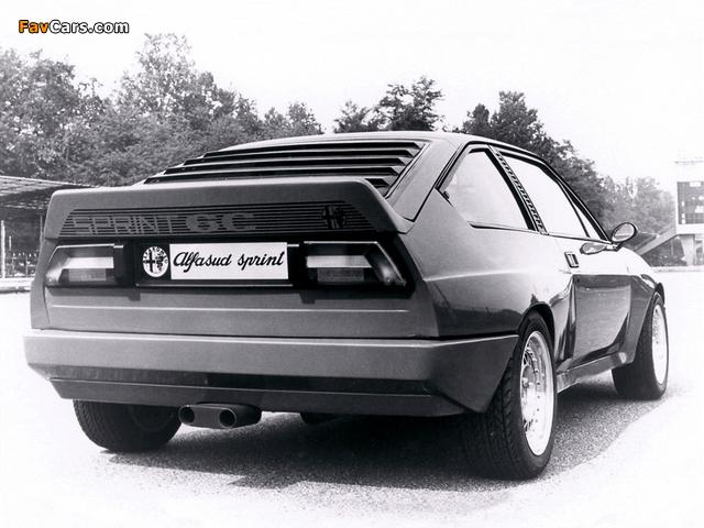 Pictures of Alfa Romeo Alfasud Sprint 6C Prototype 1 902 (1982) (640 x 480)