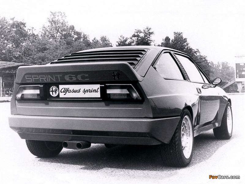 Pictures of Alfa Romeo Alfasud Sprint 6C Prototype 1 902 (1982) (800 x 600)
