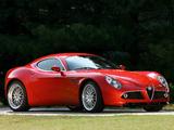 Alfa Romeo 8C Competizione Prototype (2006) wallpapers