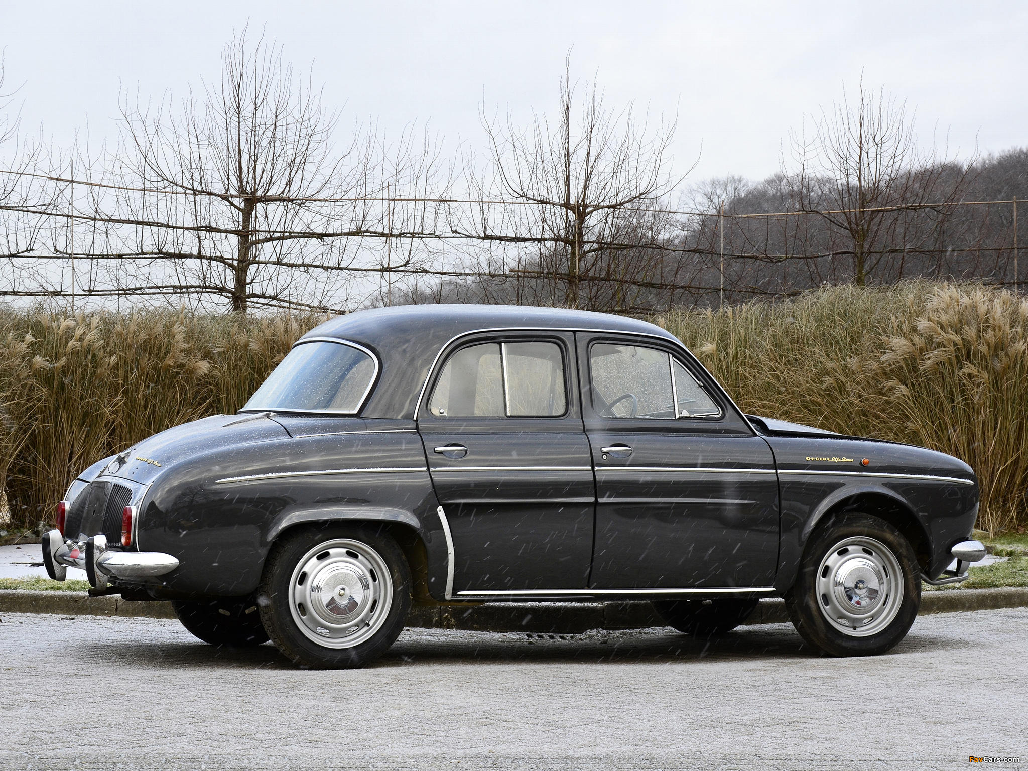 Alfa Romeo Ondine 109 (1960–1963) wallpapers (2048 x 1536)