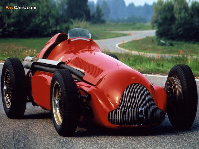 Alfa Romeo Tipo 159 Alfetta (1951) photos (640 x 480)
