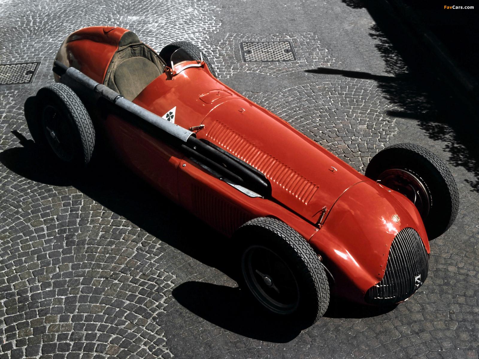 Alfa Romeo Tipo 159 Alfetta (1951) wallpapers (1600 x 1200)