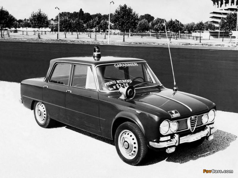 Alfa Romeo Giulia T.I. Carabinieri 105 (1962–1967 ...