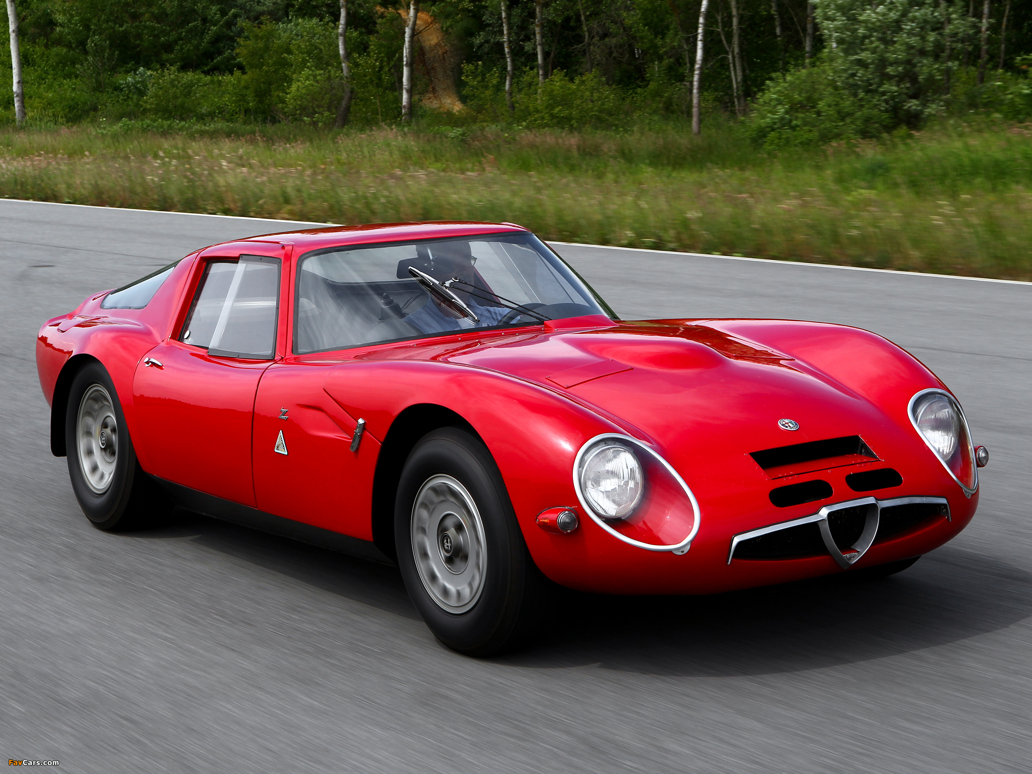 Alfa romeo zagato tz3 for sale 9