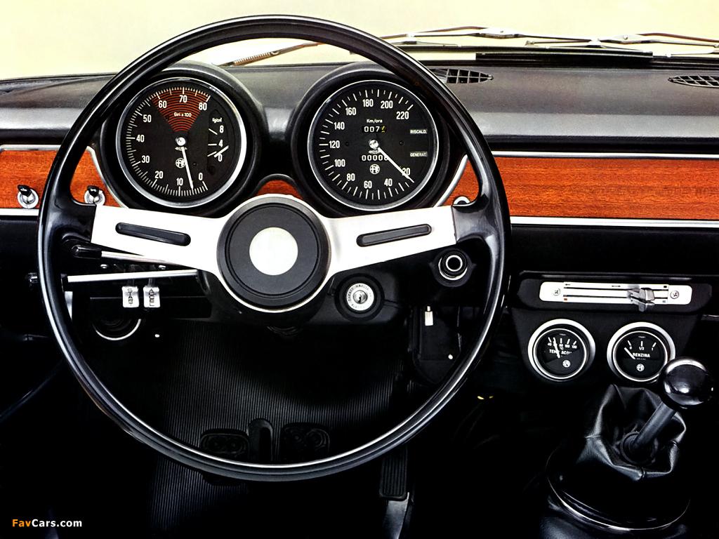Alfa romeo giulia 1600 super 1970 12
