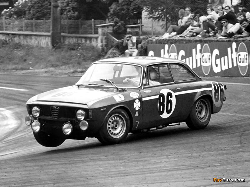alfa romeo giulia sprint gta-sa 105 (1967–1968) pictures (800x600)