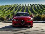Alfa Romeo Giulia Quadrifoglio US-spec (952) 2016 photos