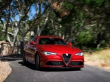 Alfa Romeo Giulia Quadrifoglio US-spec (952) 2016 pictures
